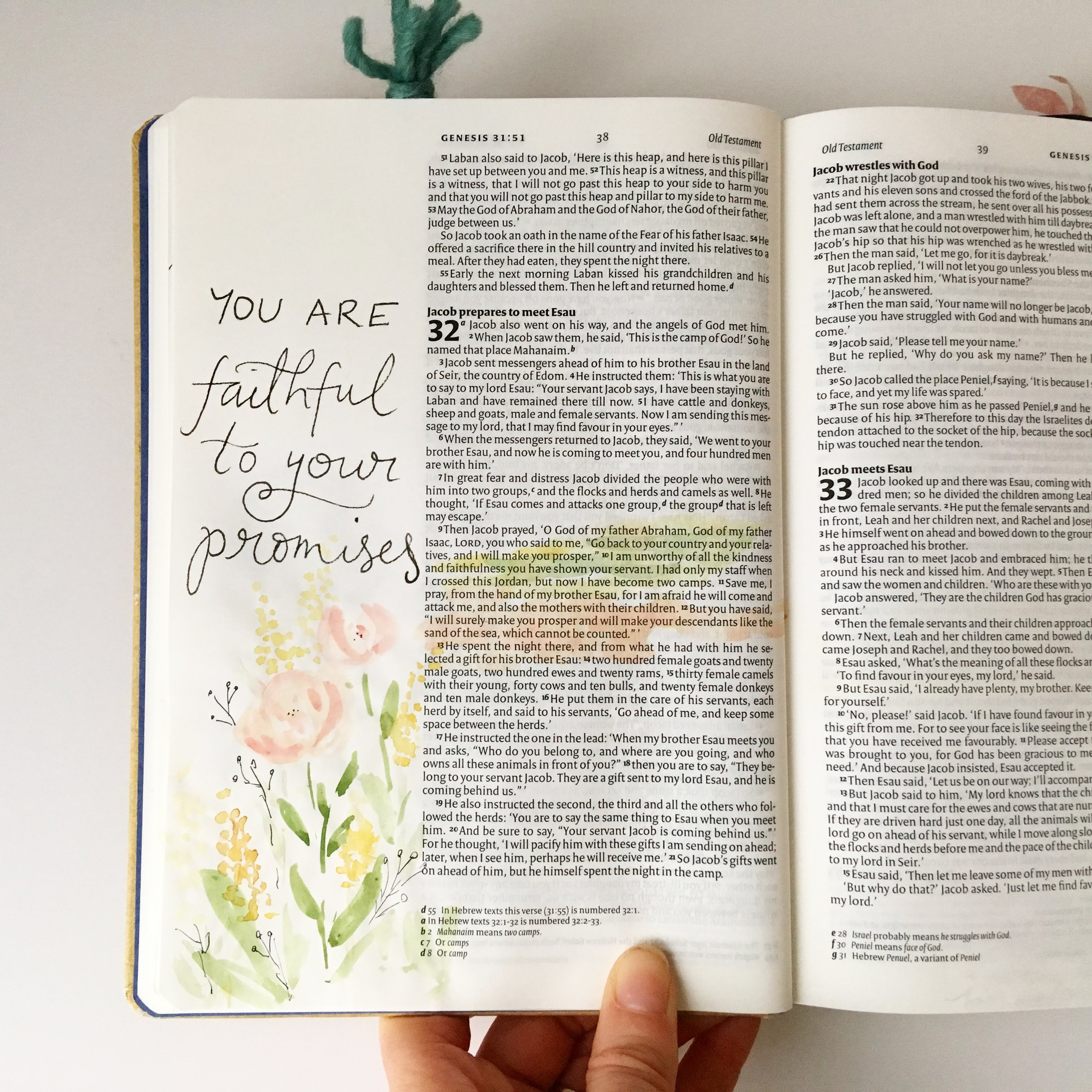Reading the Bible in a Year chronologically continues! I have kept up with the reading although I haven't spent as much time over here reflecting on it (I'm going to write some reflections based on my Bible journaling pages I think!) I'm familiar enough with the beginning of God's people and those stories from the Old Testament as Adam and Eve (and all of Israel) turn from living life God's way, turn from his love and abundant blessing to doing things their way- over and over again. The characters who are famous on the Old Testament, Abraham, Isaac, Joseph - so many people who were flawed and tried their best to walk in God's plans for their lives but often fell down and had to return to God in humility. Despite their imperfections God uses them all, uses his chosen people and uses us. He directs their path, goes before them and puts people and situations before them that are for His good plan. Through all the things that happen through Genesis and Exodus, we learn that God is almighty- he is faithful, he is perfect, he is jealous when his people turn his back on Him and start worshipping idols and forgetting the amazing things he has done for them, rescuing them from Egypt, moving the Red Sea, providing food where there was none, protecting them from their enemies, giving them a new land. When they turn from him, they suffer the consequences (things do not go well for them, they lack the abundance and life and love that a relationship with God gives us). But God remains faithful to them. He doesn't forget Israel when they forget him. He lets them wander their own way when they choose to - but then they realise and come back and he is always there to welcome them with open arms. Just like the prodigal son and the father waiting - God is that same Father through all Israel's wandering off. I love that God has plans for his people. And he has plans for us. I love that he his people who are afraid and weak and not the most amazing on their own- because it's only through Him that they can do the amazing things. I'm so glad that he goes before us and can see things we can't. I love that he uses flawed people and that he forgives and relents and loves us, all of us who forget and turn our own way day by day. God leads the way- we just need to be looking for him, looking at Him. He walks with us through deep waters and wants to be with us, for us to know and love him more than anything. And as for all the laws and details and ways that Israel could try to work their way back out of the messes they made- I am so glad that Jesus made a final, ultimate sacrifice so we don't have to make any more sacrifices- the final atonement so that we don't have to pick through laws that highlight all our failings. God is holy, he is pure and wonderful and he loves us enough to make us the same, so that despite our turning from his love we can be with him. We can talk to him, pour out to him, follow him, confess to him, sit with him and ask him to show us what is next. Following the story of his steadfast love towards his people, his continued strength and power given to people who feel incapable and seeing both his justice and mercy is such a gift. I love that we can get to know the history of all that happened to the Israelites before Jesus, and see exactly why we need him, exactly how fallible we are, turning away from him again and again often in the most ridiculous and silly ways. We fail to trust him even though we have seen him doing incredible things in our lives (like the parting of the Red Sea). We worry about him providing for us even though he has always done so and always will. We see shiny golden objects, make things to make our lives fun and interesting and forget who created the whole world, out of love for little old us. Whilst sometimes reading the Old Testament can seem hard work and each sentance doesn't always thrill, it's the historical narrative that shaped the identity of God's people, and we can learn so much from the way they interact with God and him with them.