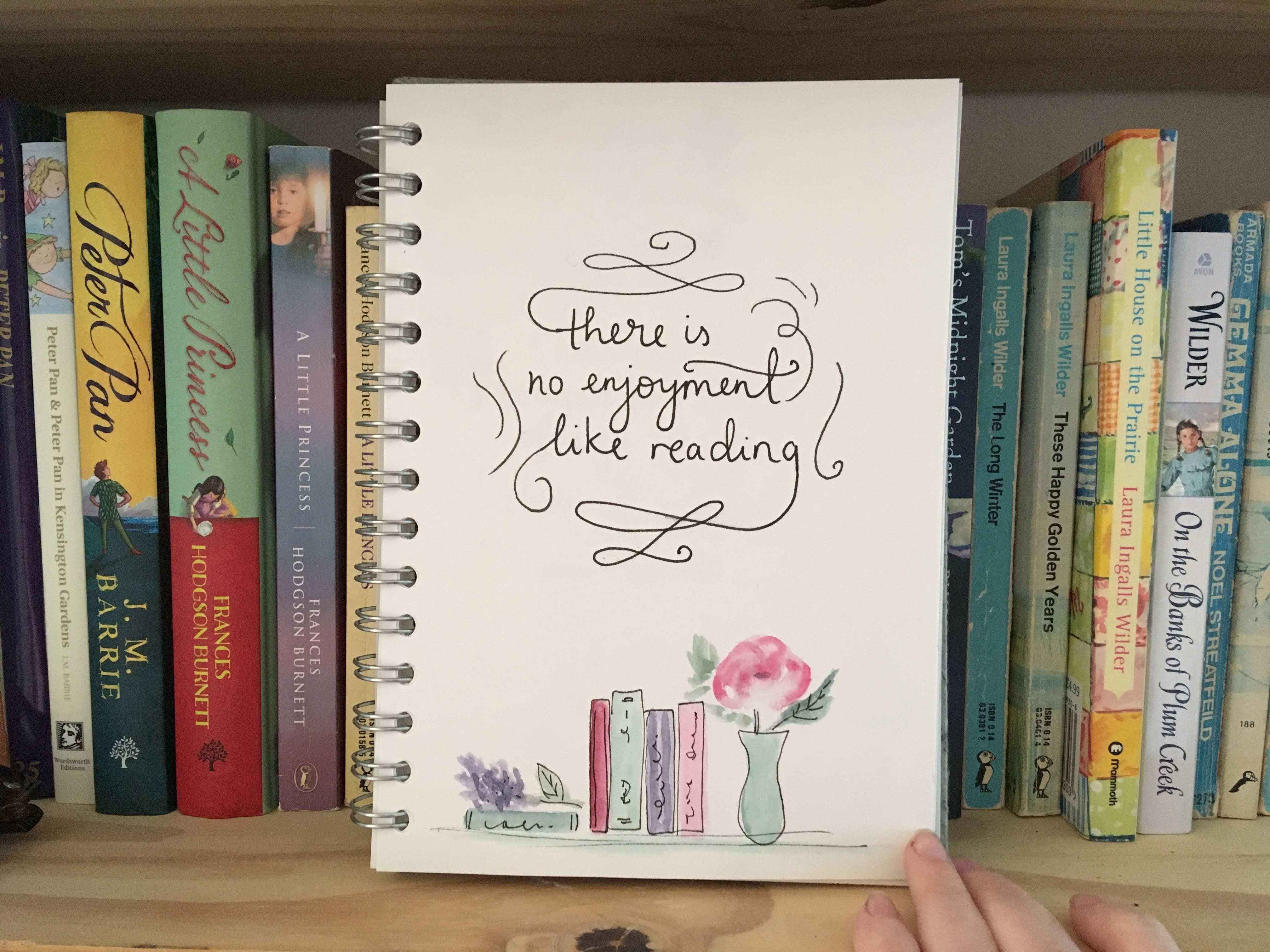 Sketchbook Saturday – Flowers and Prose