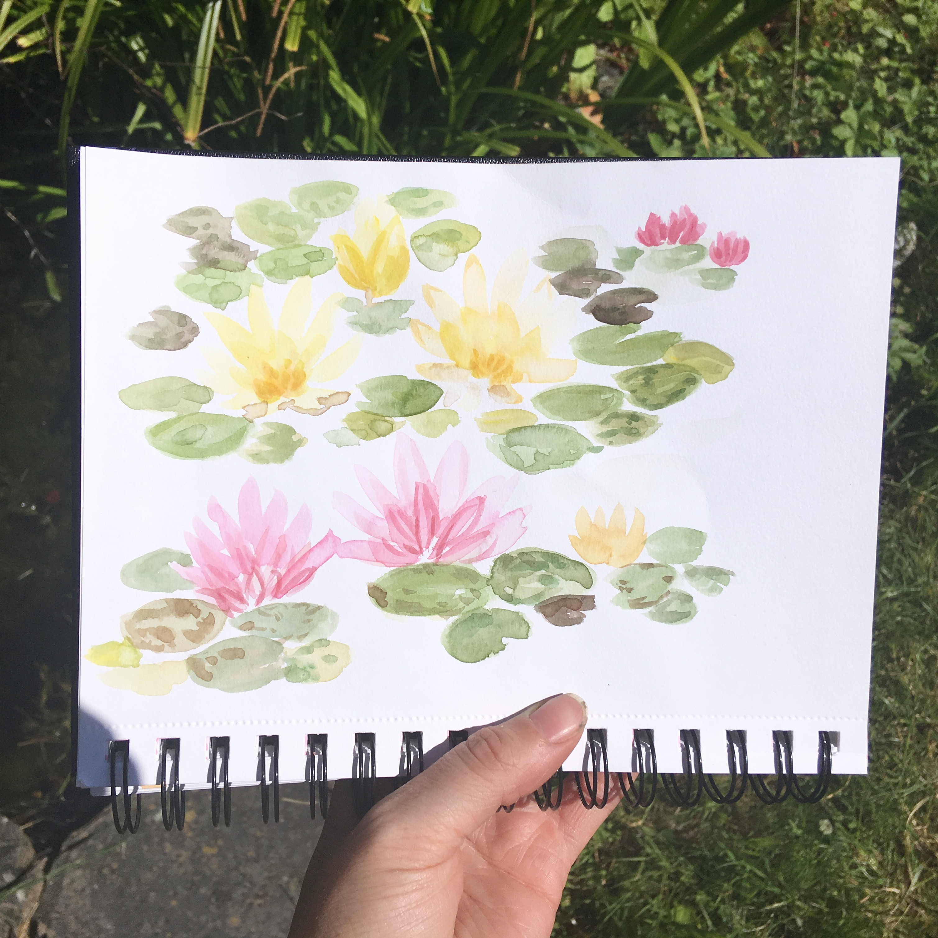 inspired by oxford botanical gardens