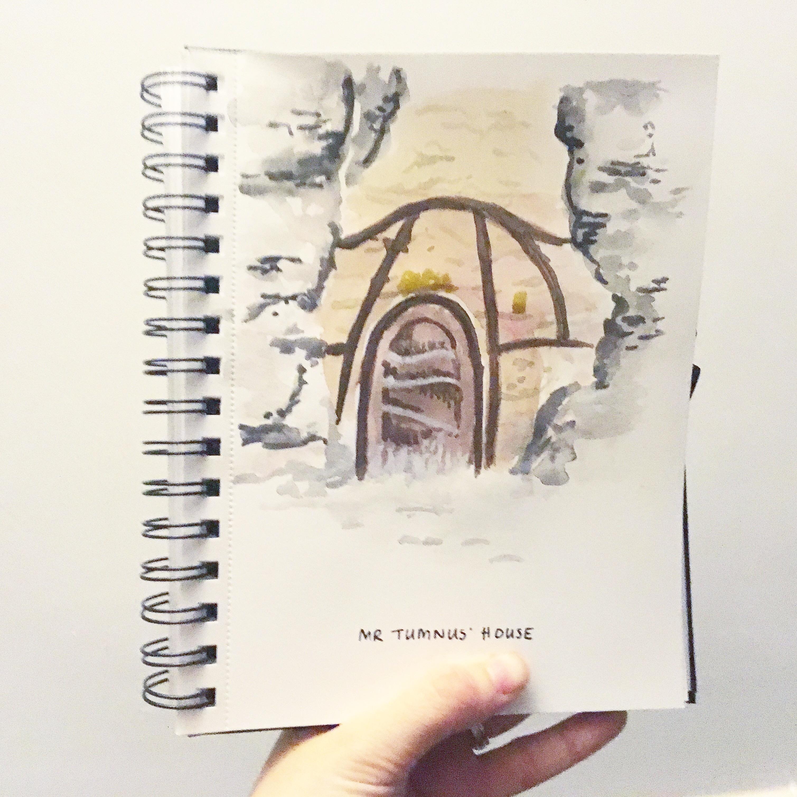 Literary houses – Sketchbook Saturday