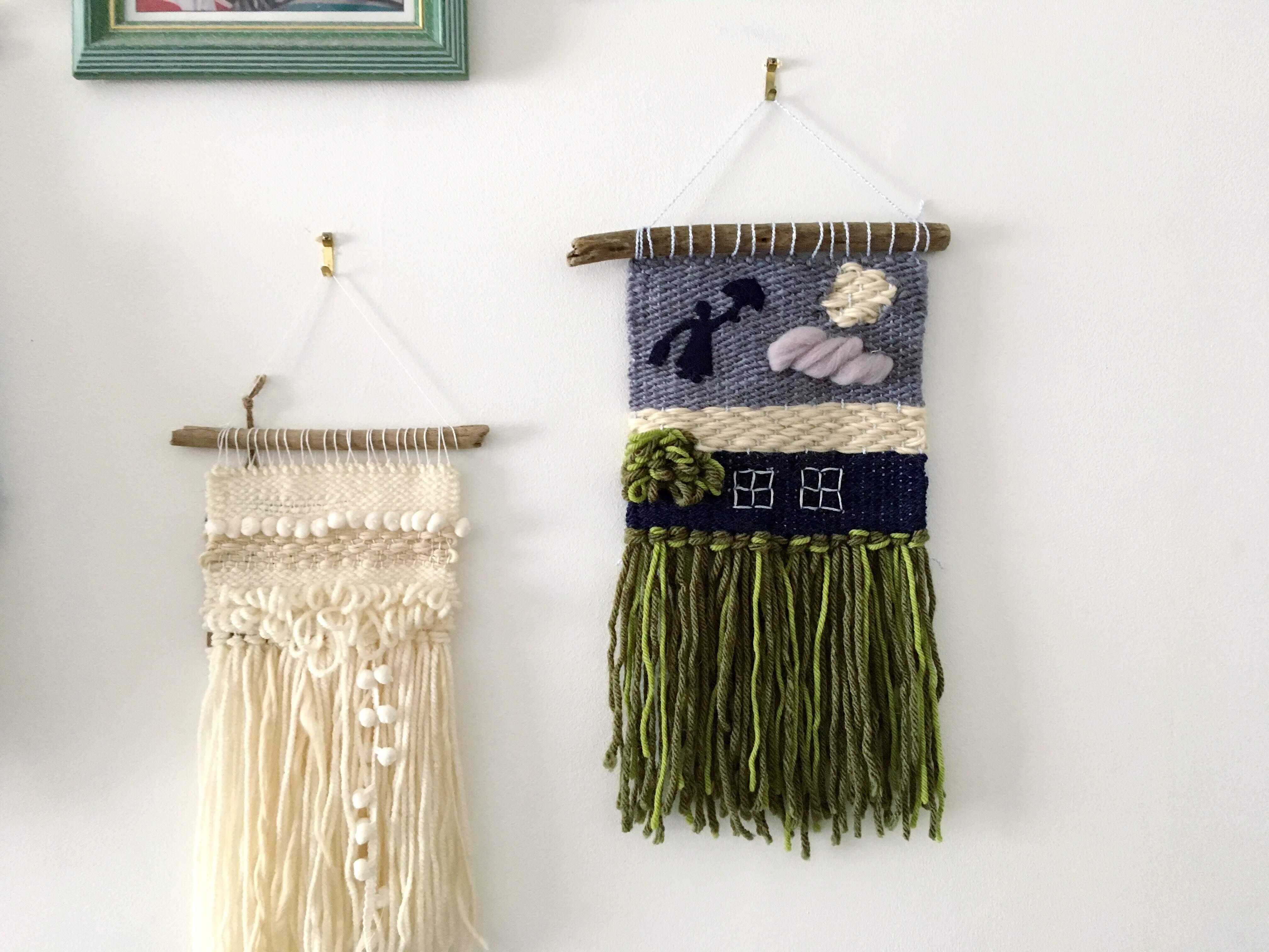 Mary Poppins inspired wall hanging