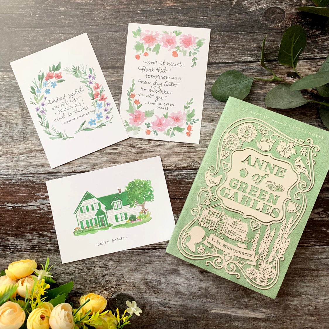 Anne of Green Gables gift bundle