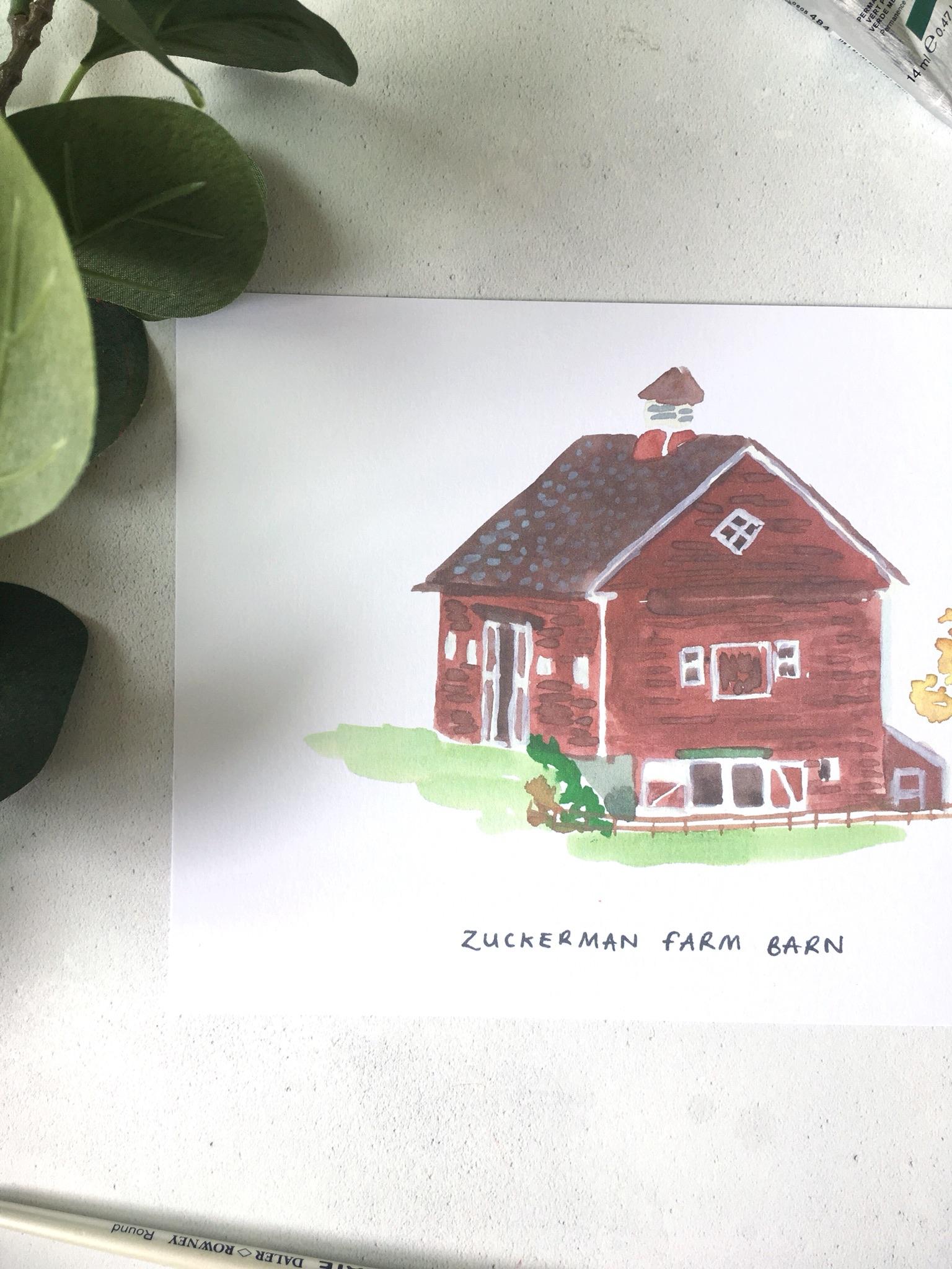 Zuckerman Farm Charlotte's Web Print