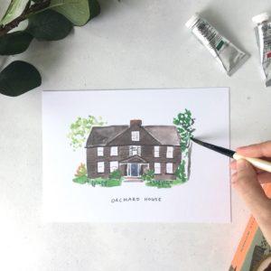 orchard house little women print