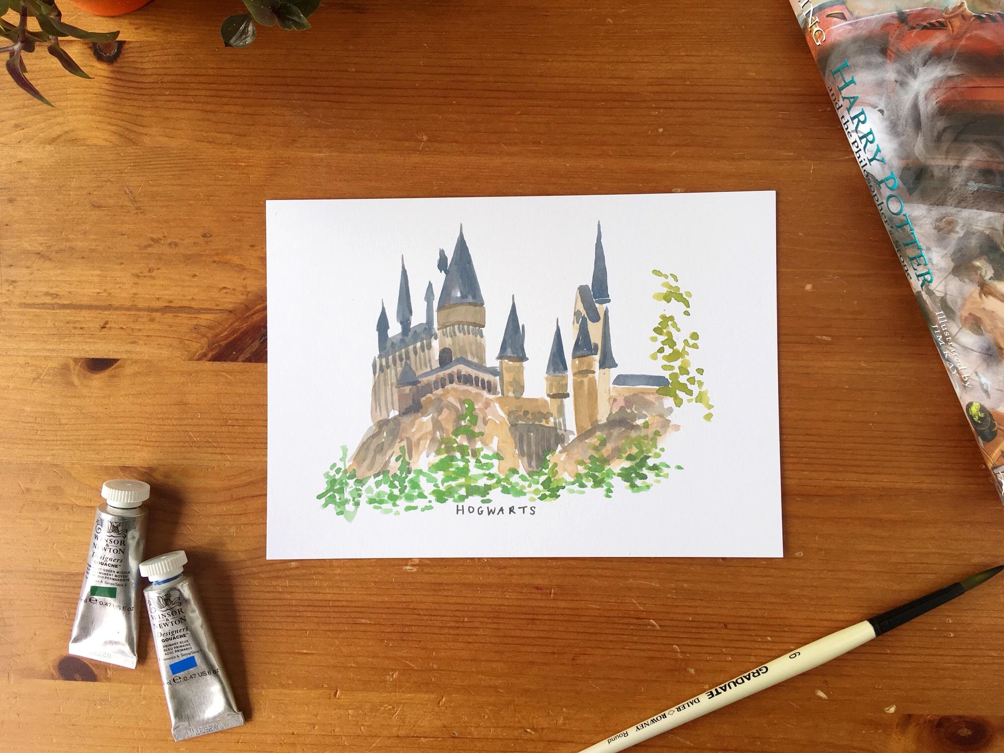 hogwarts prin - Zoeprose literary house seriest