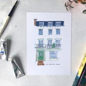 Darling House Peter Pan Print
