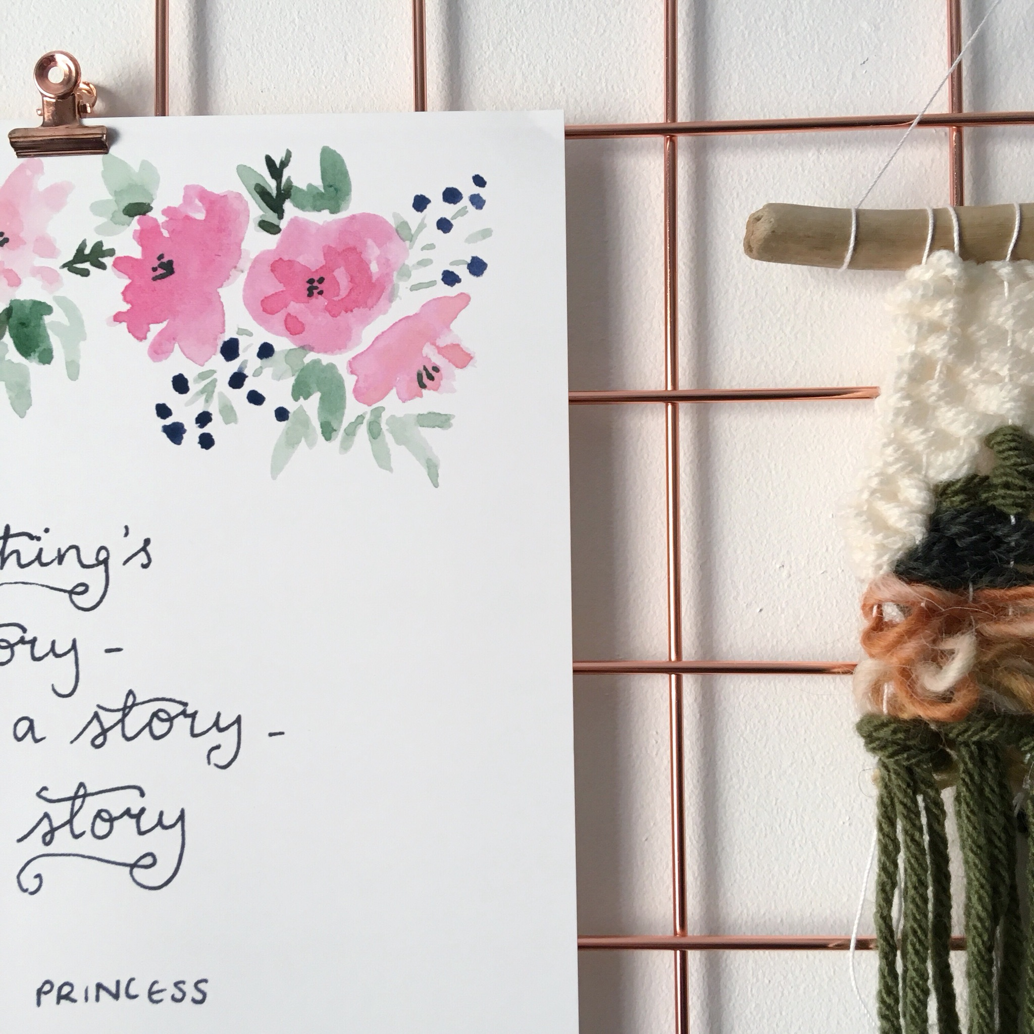 A Little Princess Story Quote Print
