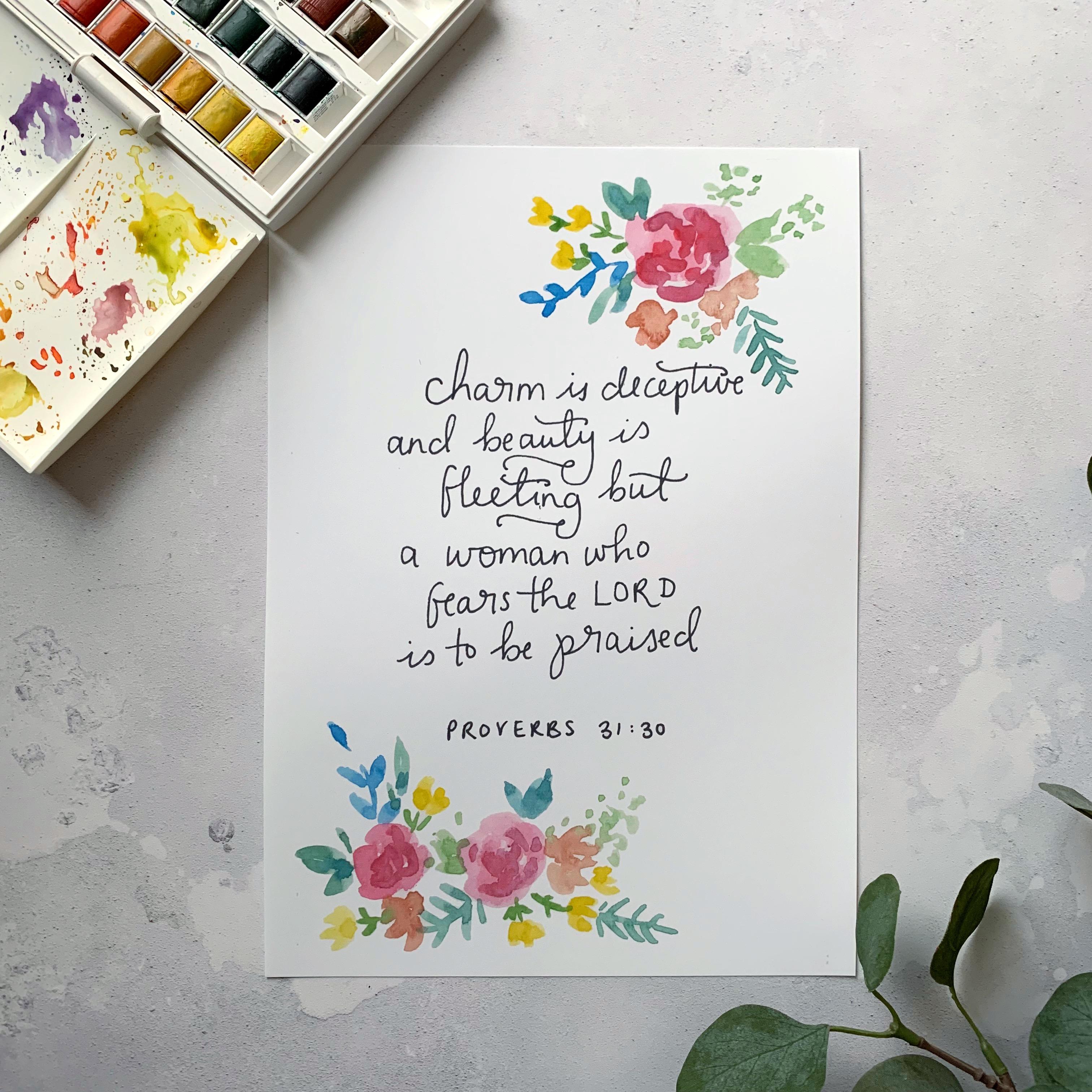 proverbs 31 verse 30